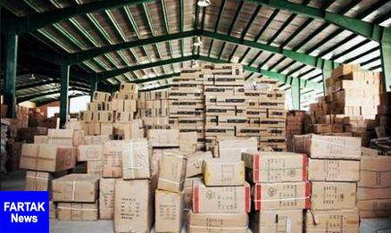 کشف کالای قاچاق از انبار یک تعاونی مسافری در ترمینال غرب