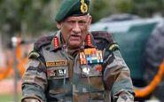 هشدار فرمانده ارتش هند به پاکستان