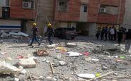 نشت گاز باز هم حادثه آفرید / انفجار و تخریب منزل مسکونی در قائمشهر