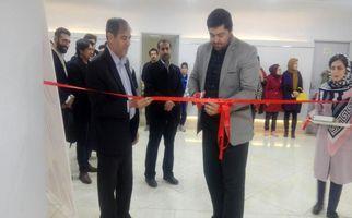 آیین گشایش نمایشگاه منتخب آثار جشنواره ملی کارتون و پوستر مرز امن در کرمانشاه(به روایت تصویر)