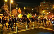 حمله به تظاهرات ضد نتانیاهو در فلسطین اشغالی