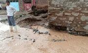 سیل برق روستاهای رازو جرگلان خراسان شمالی را قطع کرد