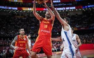 مراسم اهدای جام قهرمانی بسکتبال 2019 به تیم ملی اسپانیا + فیلم