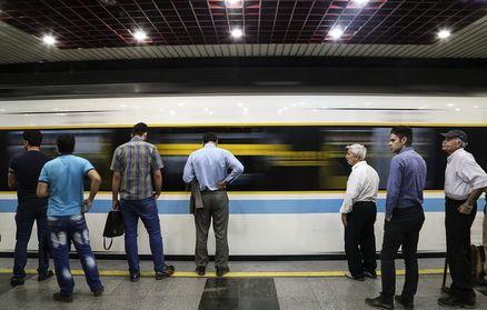 نحوه سرویس دهی خط ۵ مترو تهران در ۱۲ و ۱۳ فروردین