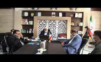 پیگیری رییس شورای شهر کرمانشاه در خصوص مرگ مرحومه پناهی + فیلم