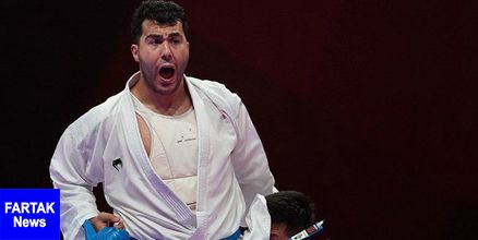لیگ جهانی کاراته وان قهرمانی ایران باثبت پنجمین مدال طلا/گنج شیلی به گنج ایرانی رسید