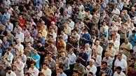 حضور چهره های سیاسی در نماز عید فطر