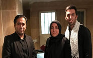 گوینده خبر تلویزیون عزادار شد + عکس