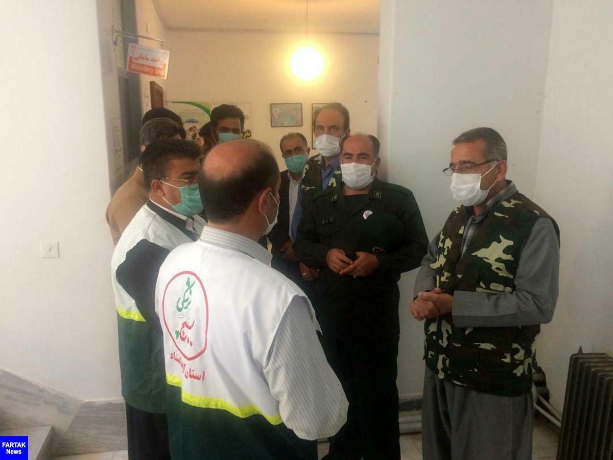 گزارش تصویری اعزام تیم چند تخصصی بسیج جامعه پزشکی استان کرمانشاه به منطقه کمتر برخوردار باینگان