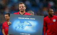 بازی خداحافظی ستاره هلندی در حضور مهدویکیا انجام شد
