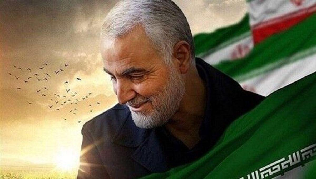 عکس و جمله معنادار در کانال تلگرامی سردار سلیمانی