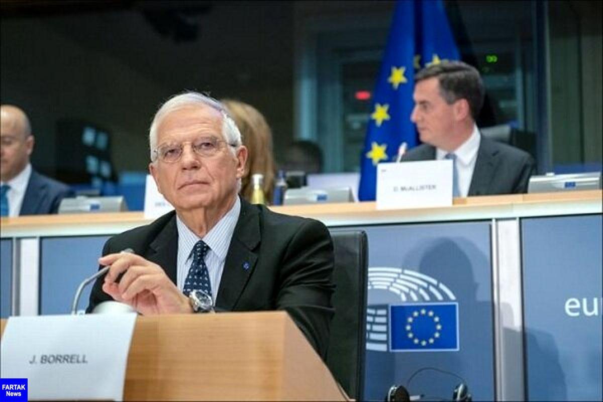 واکنش مسئول سیاست خارجی اتحادیه اروپا به حوادث میانمار