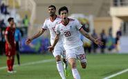 سردار آزمون یکی از ۵ بازیکن برتر مرحله گروهی جام
