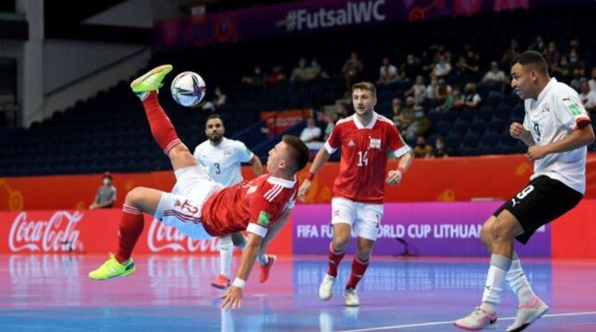صعود سه تیم به یک هشتم نهایی جام جهانی فوتسال