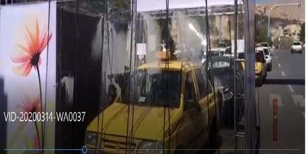 راه اندازی تونلهای ضدعفونی کننده خودرو در شیراز