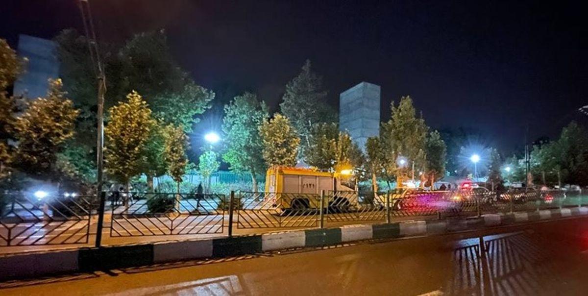 جزئیات جدید از حادثه انفجار در پارک ملت تهران