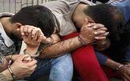  سارقان مسلح جاده سلامت جوانرود دستگیر شدند/کشف اسلحه و 9 تیرجنگی