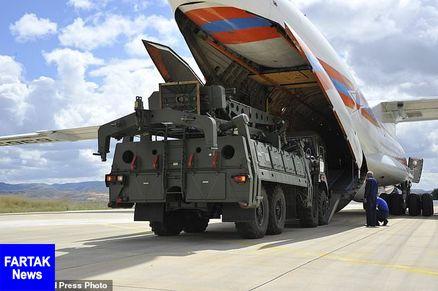 ورود پنجمین محموله قطعات سامانه موشکی اس-400 به ترکیه