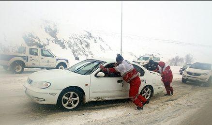 بیش از ۵ هزار مسافر در راه مانده در استان قزوین اسکان داده شدند