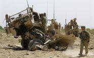 کاروان نظامی آمریکایی در جنوب بغداد مورد حمله قرار گرفت