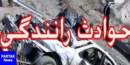 تصادف مرگبار در جاده ساحلی دلوار/ سه نفر کشته شدند