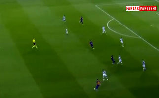 گل اول بارسلونا به رئال بتیس توسط گریژمان