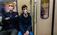 جلوگیری از ورود شهروندان بدون ماسک به مترو
