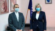 معاون اول مجلس نمایندگان بوسنی بر توسعه روابط پارلمانی با ایران تاکید کرد