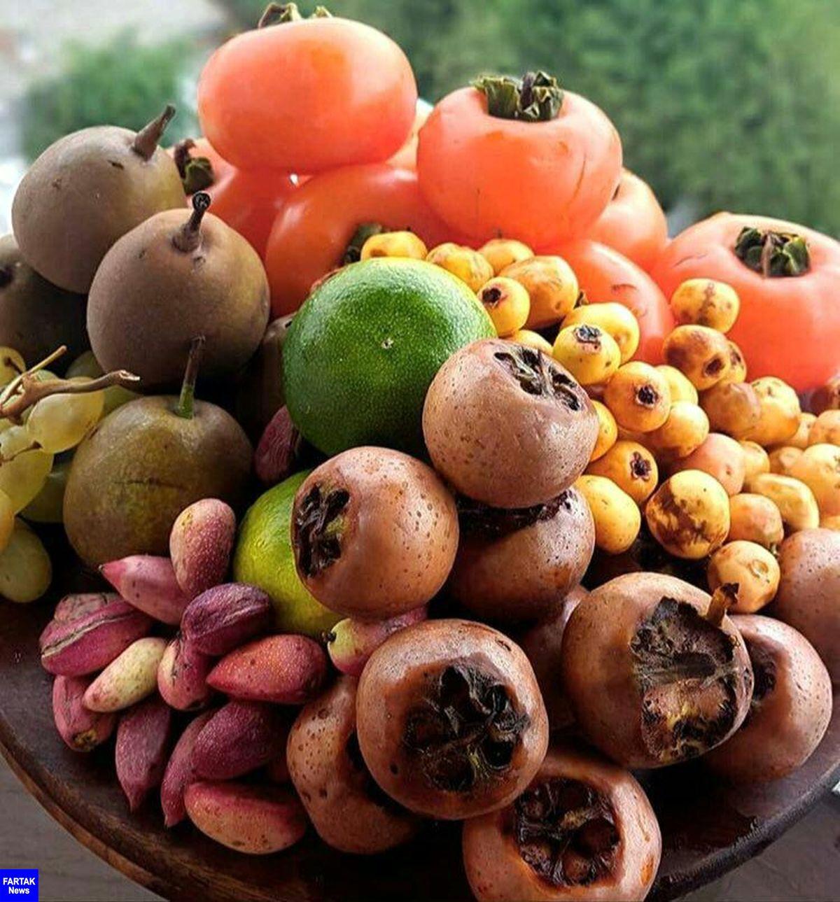 اعلام قیمت انواع میوه های پاییزی در میادین میوه و تره بار