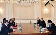 دیدار عراقچی با رییس جمهوری آذربایجان