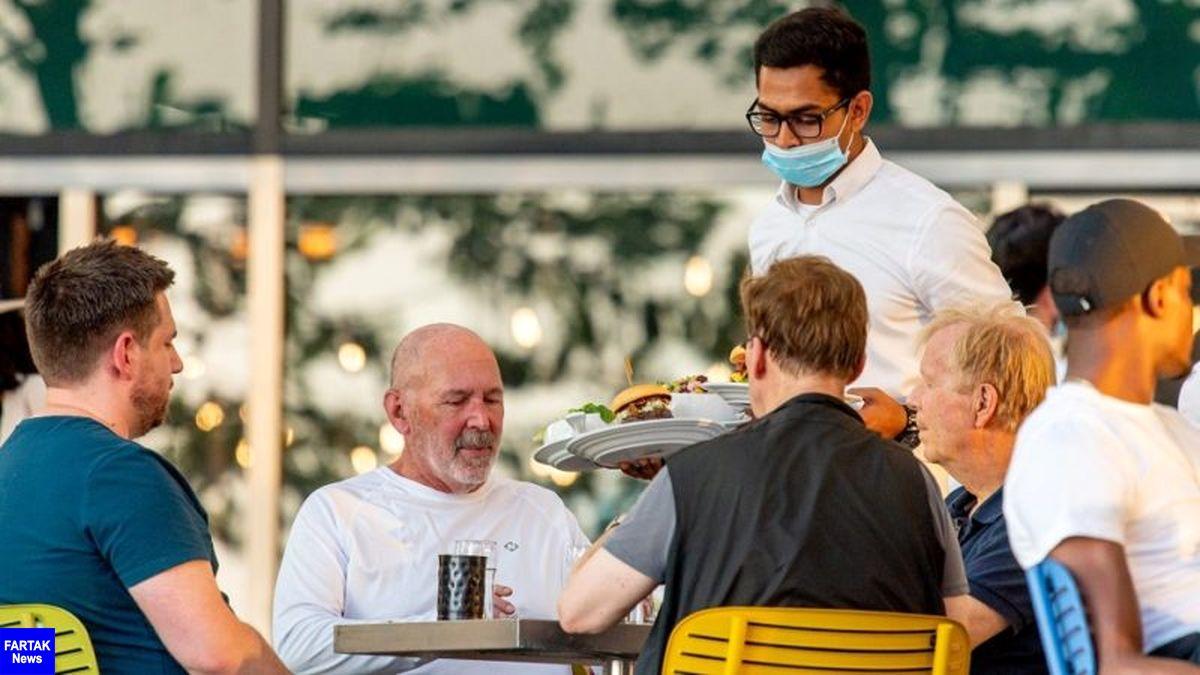 رستوران جایی برای گرفتن ویروس کرونا؟