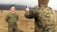 تمرین عجیب سربازان آمریکایی با اسپری فلفل