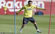 مسی نگرانی هواداران بارسلونا از مصدومیتش را برطرف کرد