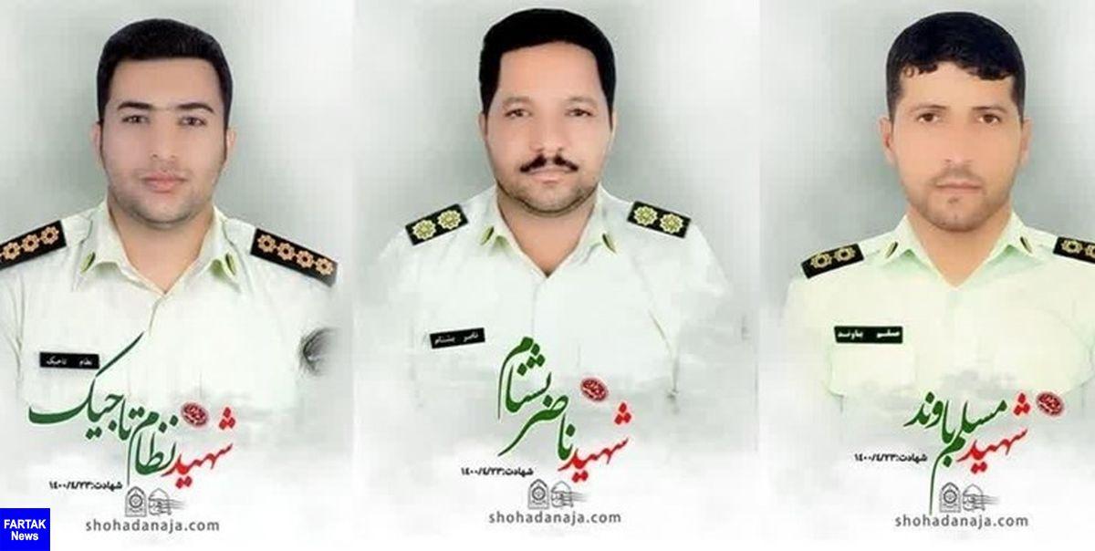 دستگیری عوامل شهادت ۳ نفر از مأموران انتظامی کهنوج در بندرعباس