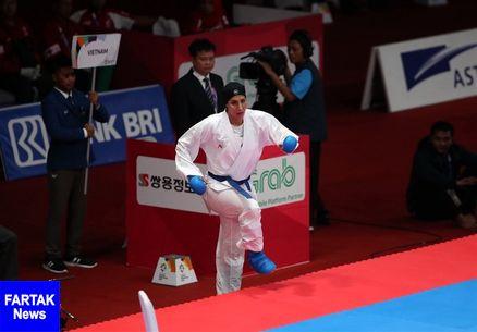 عباسعلی فینالیست شد/ تلاش کاراته ایران برای کسب ۲ مدال طلا و یک مدال برنز