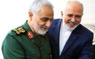 ظریف: منطقه و جهان به سردار سلیمانی بدهکار است