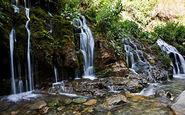 آبشاری دیدنی در ایران که نقشی زیبا به منطقه خود داده است