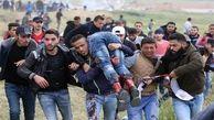 نوار غزه|افزایش آمار مجروحان راهپیمایی بازگشت به ۲۷ نفر