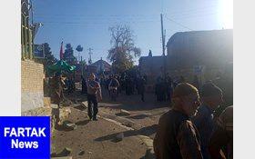 حادثه تلخ برای عزاداران هیات روستای طبس