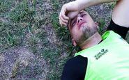پلیس آرژانتین بازیکنان فوتبال را به گلوله بست(تصاویر)