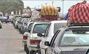 شناسایی و خروج خودروهای مسافر در آبادان