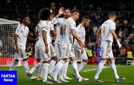 پیروزی پر گل رئال مادرید در لالیگا
