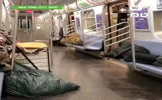فیلم/ وضعیت اسفناک بیخانمانهای آمریکا با شیوع ویروس کرونا