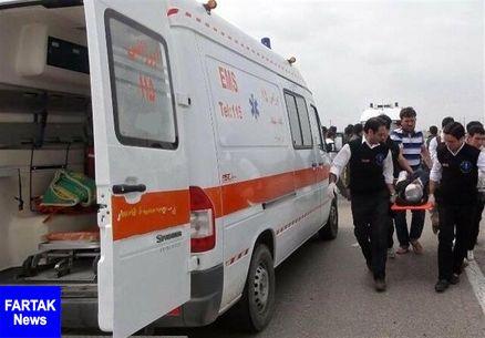 ۸ کشته و ۱۸ مصدوم در تصادف مینیبوس و کامیون در گنبد