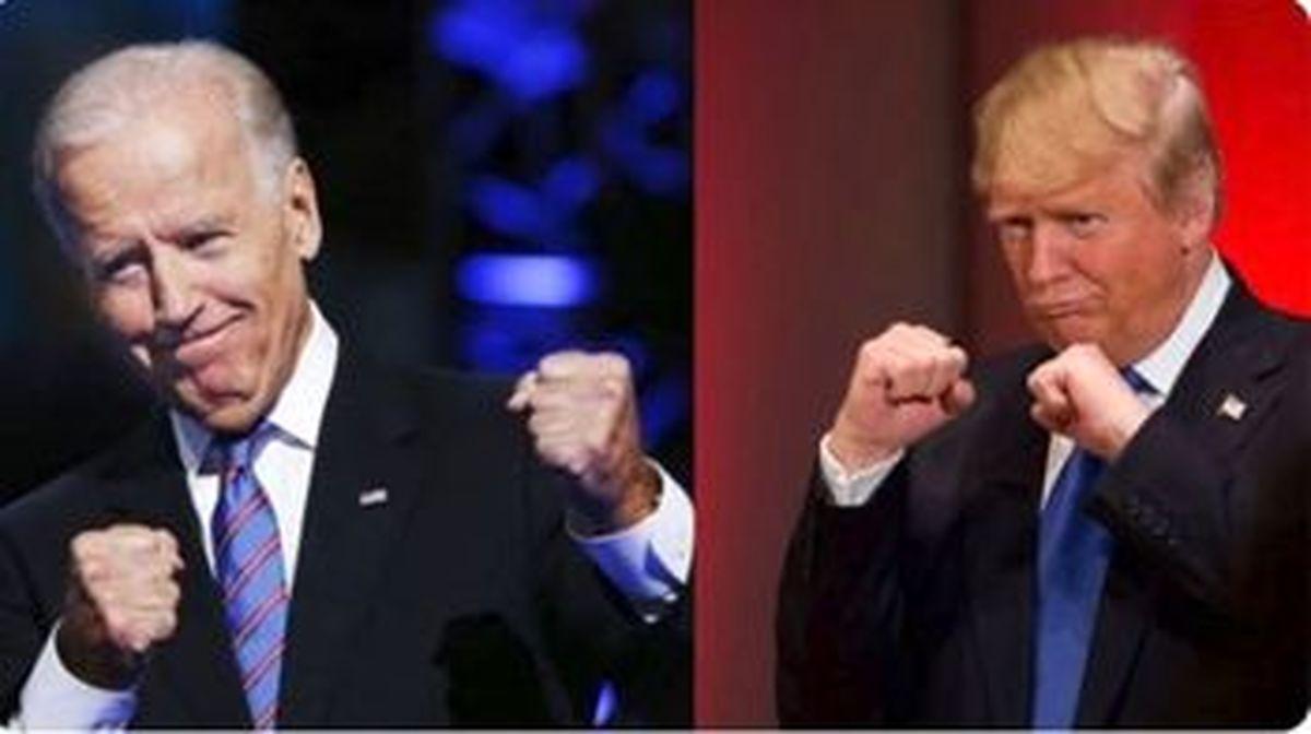 ادعای ترامپ در صورت پیروزی بایدن+عکس