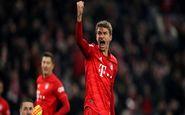 رکورد جدید توماس مولر در فوتبال آلمان