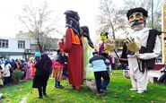 مراسم شادپیمایی عروسک ها در معبد آناهیتا به روایت تصویر
