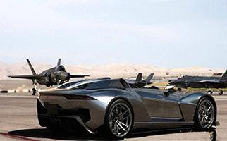 جدال دیدنی ماشین و موتور و جنگنده+فیلم