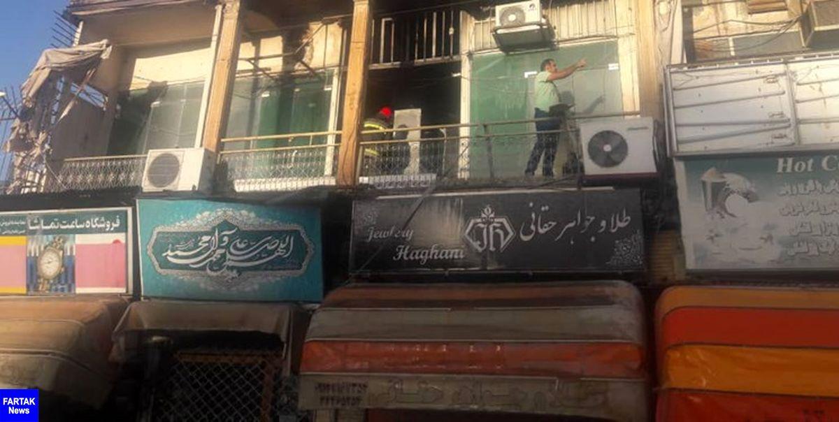 حریق کارگاه طلاسازی در اصفهان مهار شد