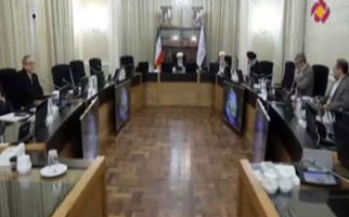 حضور دوربین یک برنامه تلویزیونی در جلسه رسمی شورای نگهبان برای اولین بار
